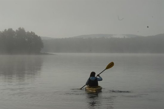 Pittsburg, NH: Paddle First Connecticut Lake in the morning.
