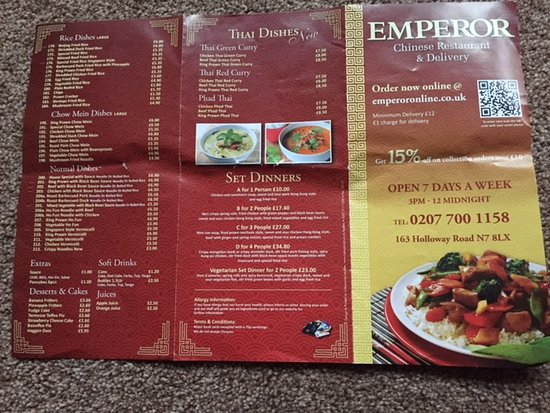 Emperor Chinese Greater London Updated 2019 Restaurant