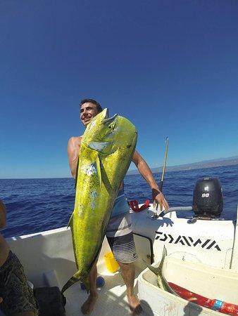 Omar's sportfishing: great fish mahi mahi en Puerto Escondido Oax.