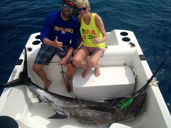Omar's sportfishing: working as a team, everything will be fine!