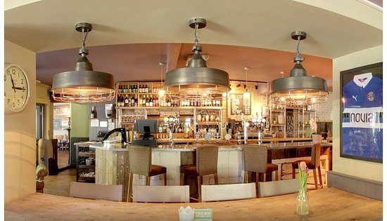 Bar area, dog friendly seating and 2 TV screens. We have BT sport ...