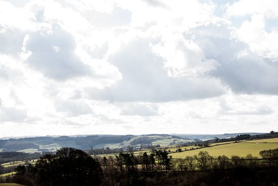 Winster, UK: A view across the Peak District