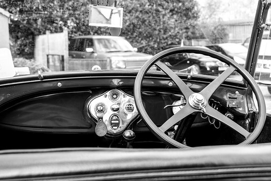 Winster, UK: The car