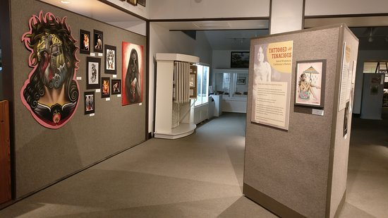 Yuba City, CA: This was our temporary exhibit Tattooed and Tenacious: Inked Women in California's History