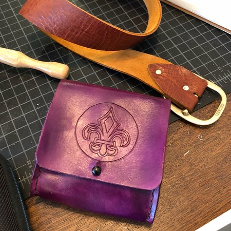 Lakeland, FL: Beautiful leather products designed by hand in welcoming space. Lots of fun workshops too! Say h