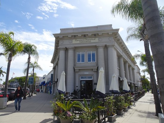 Coronado, CA: Historic buildings are what Corondo is all about
