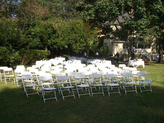 Dailey Renewal Retreat: Wedding on the lawn