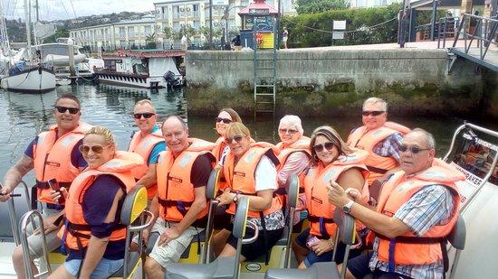 Knysna RIB Adventures: and we're off!