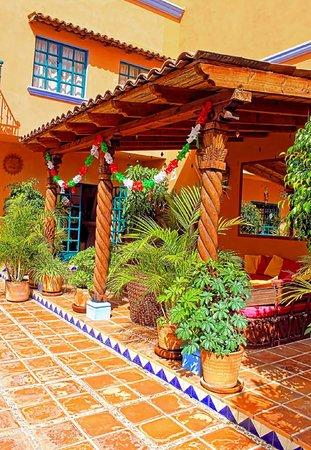 Casa Frida B&B: Patio