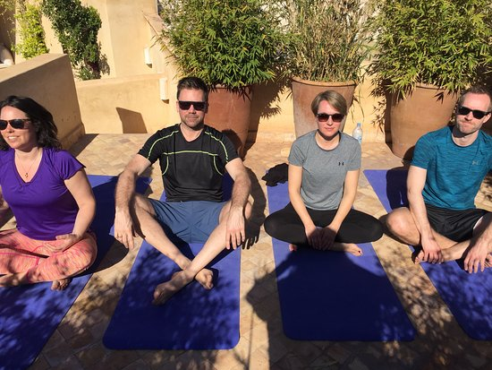 Sally Goldfinger Yoga & Ayurveda: Private class with Swedish group