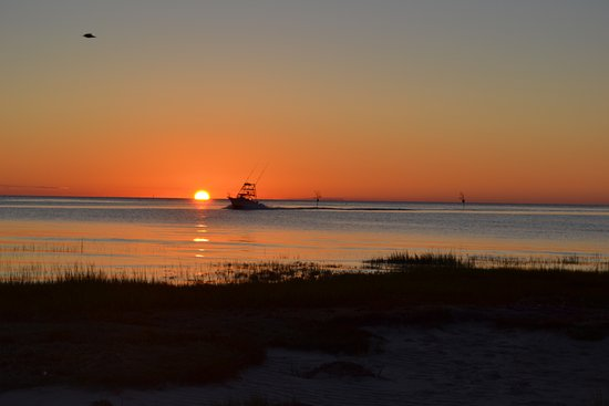 East Orleans, MA: Sunset at Rock Harbor