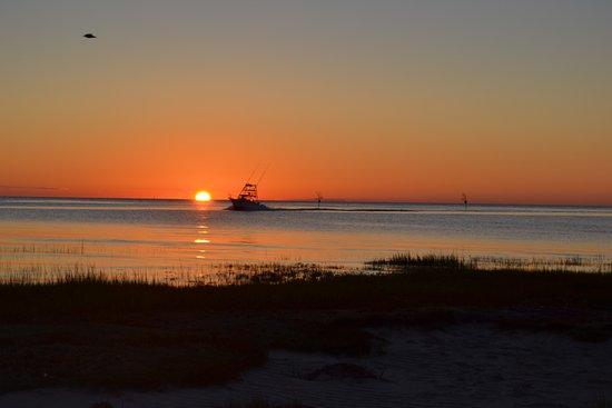 The Parsonage Inn: Sunset at Rock Harbor