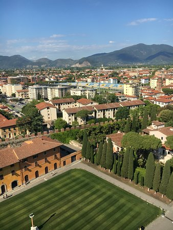 Province of Pisa, Italië: View from the Pisa BellTower