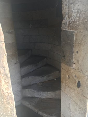 Provincia di Pisa, Italia: Worn steps going up to the top of the Pisa Bell Tower