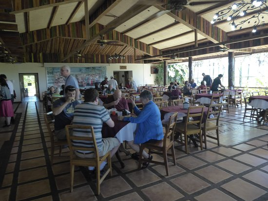 Poas Volcano National Park, Costa Rica: Lunch Room at the Doka Estate