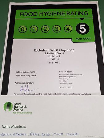 Eccleshall Fish Bar
