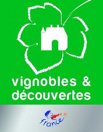 """Le Clos des Tilleuls : Labellisé """"Vignobles&découvertes"""", nous organisons des dégustations pour nos hôtes"""