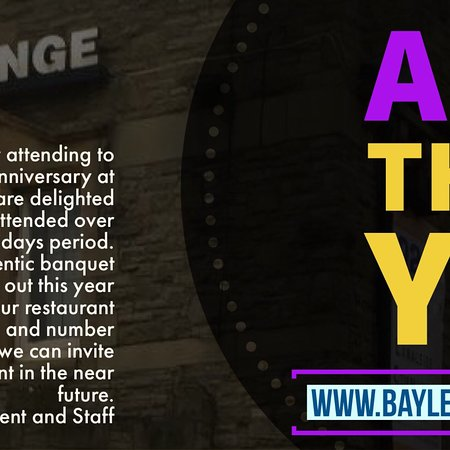Bayleaf Wine Bar & Restaurant: Bayleaf 12th Year Anniversary