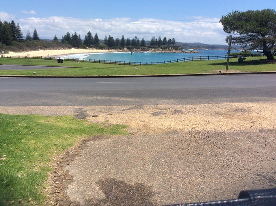 Horseshoe Bay, Bermagui. Opposite Markets on Lamont.