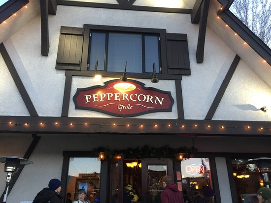 Peppercorn Grille: entrance
