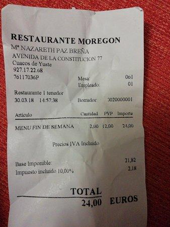 imagen Hotel Restaurante Moregon en Cáceres