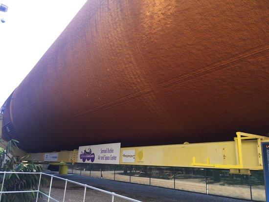 California Science Center: 打ち上げブースター