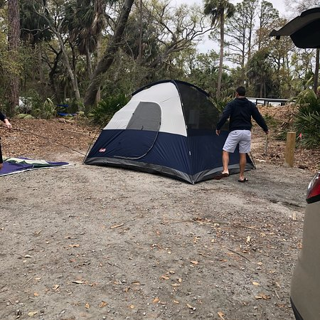 Hunting Island State Park Campground: A great stay in so many ways!