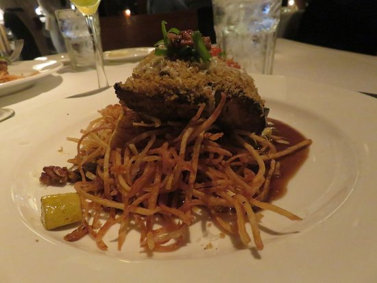 Emeril's New Orleans: Drum Fish Fillet with shoestring fries