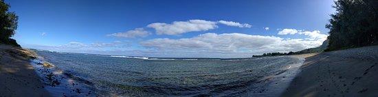 Haena, Hawái: A beautiful beach