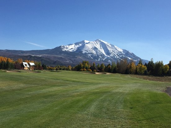 Redstone, CO: Mt. Sopris from the RVR golf course