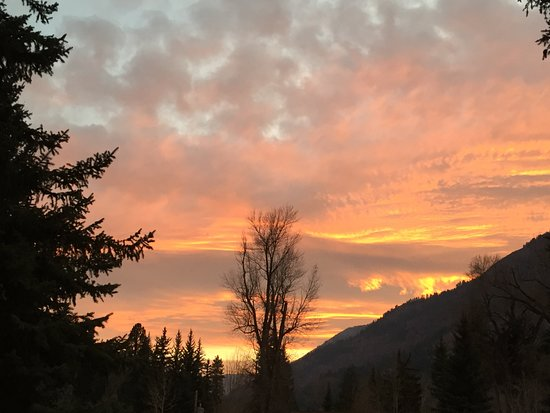 Redstone, CO: Sunset. Wow!