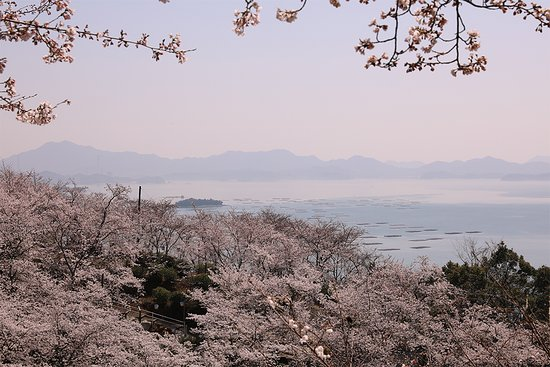 Higashihiroshima, Japan: 瀬戸内海の多島美が