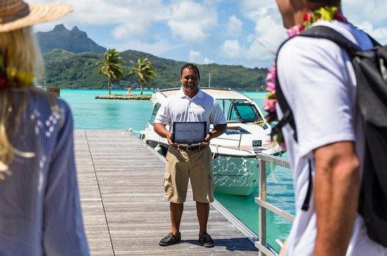 Bora Bora Aeroporto privato di arrivo