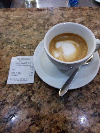 New Napoleonico: Un caffè macchiatone