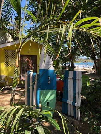 Nicoya, Costa Rica: Washing off the sand from my feet