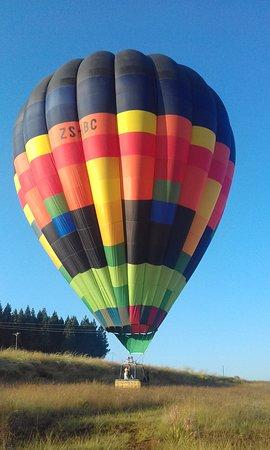 Thaba Tsweni Lodge & Safaris: Hot Air Ballooning at Thaba Tsweni Lodge