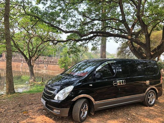 Siem Reap, Cambodja: advisortaxi