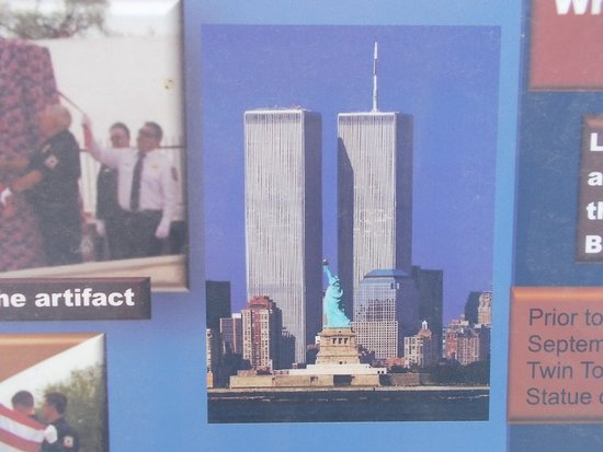 The Twin Towers Of The World Trade Center Wtd Before 9 11 Picture Of 9 11 Memorial Park Gila Bend Tripadvisor