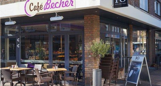 Borken, เยอรมนี: Cafe Becher