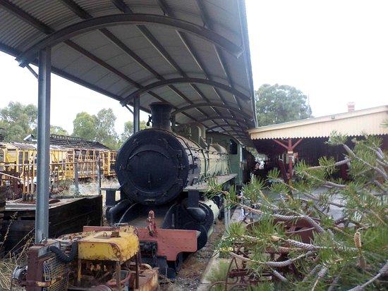 Northam Heritage Centre - Old Northam Railway Station: Steam loco