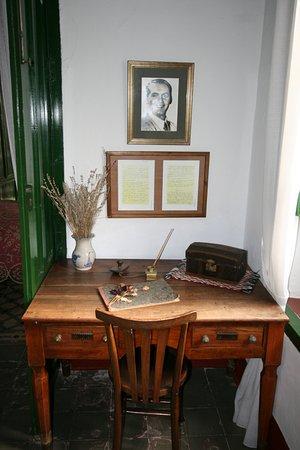 Casa Museo Lorca Valderrubio. Escritorio de Federico
