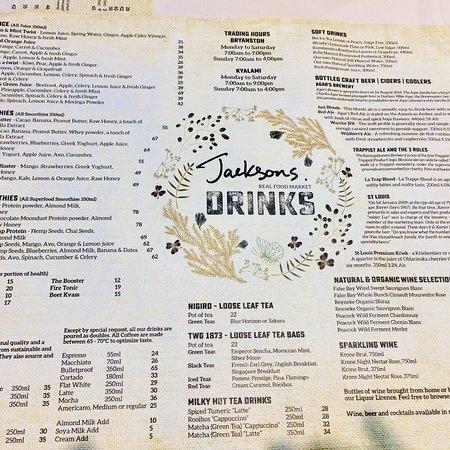 Bryanston, South Africa: Jackson's Real Food Market