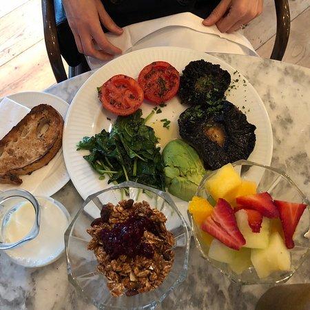 Great vegan breakfast