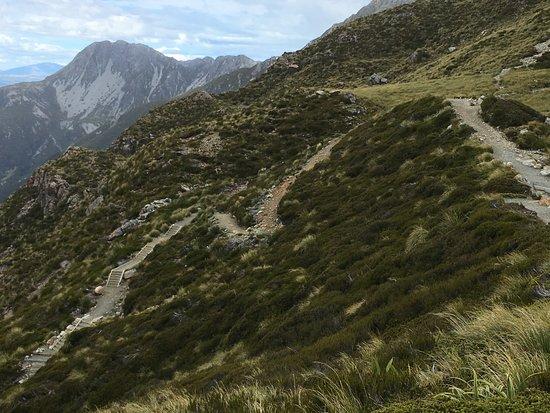 Rangiora, Νέα Ζηλανδία: Sealy Tarns near Aoraki Mt. Cook