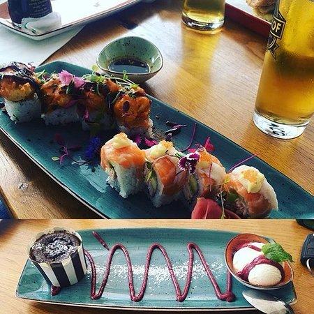 Sushi & Chocolate Meltdown