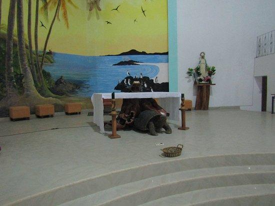 Puerto Villamil, Ecuador: Tortoise altar