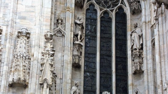 Particolare del Duomo di Milano