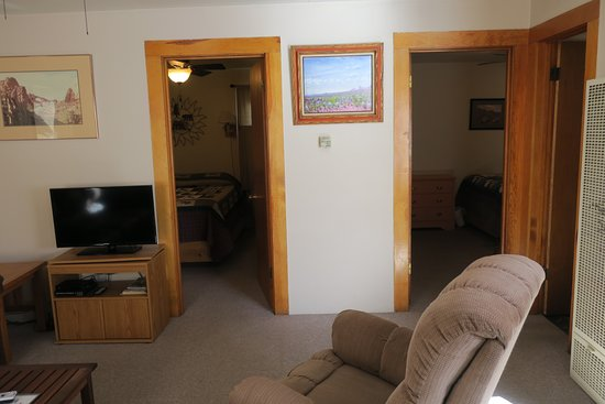 South Fork, CO: Two bedrooms, LR, kitchen