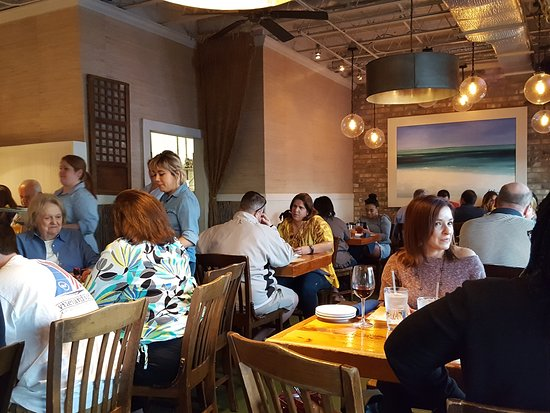 The Big Ketch Saltwater Grill   Buckhead: Dining Room From Our Small Table