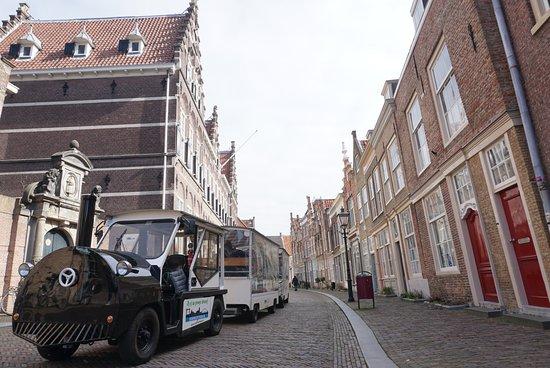 De historische binnenstad van Dordrecht